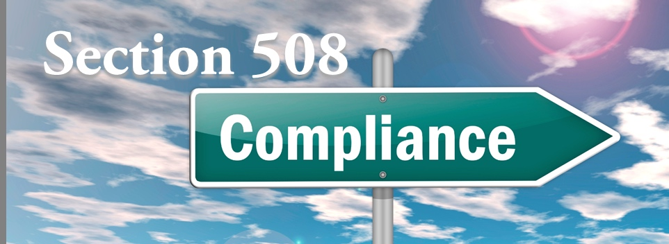 Website firm that helps with 508 Compliance